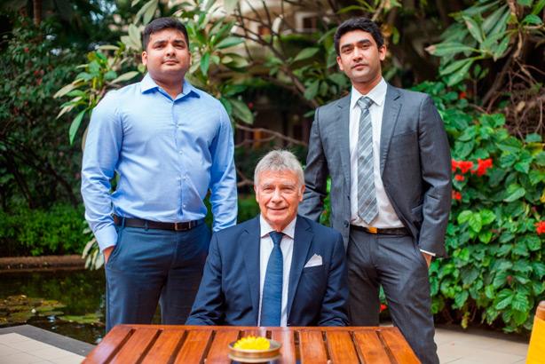 Mr Advith Shetty, Dr Dante Cagliari, Mr Abhijit Shetty